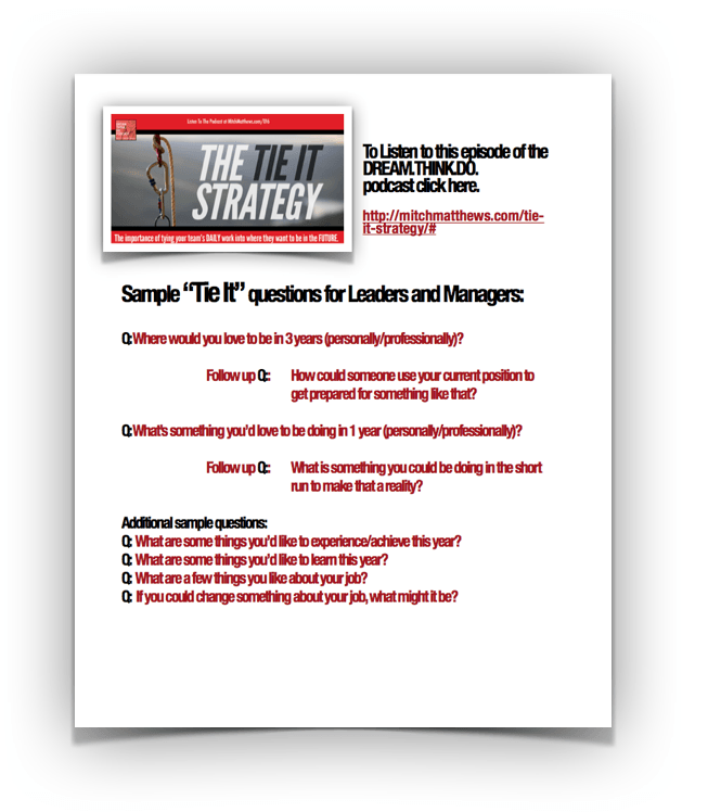 Tie It Strategy - Mitch Matthews