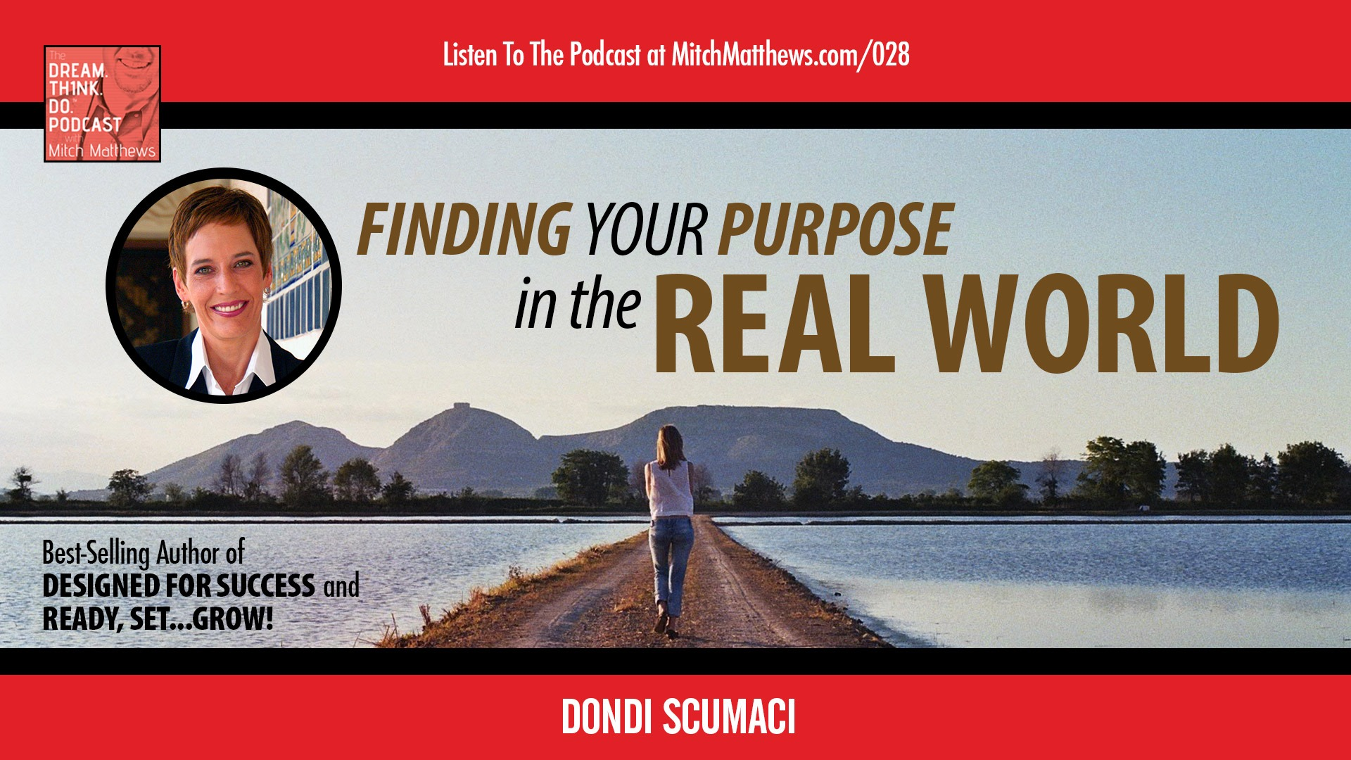 Dondi Scumaci | Finding Your Purpose in the Real World