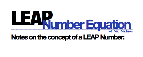 Leap Number E Graphic