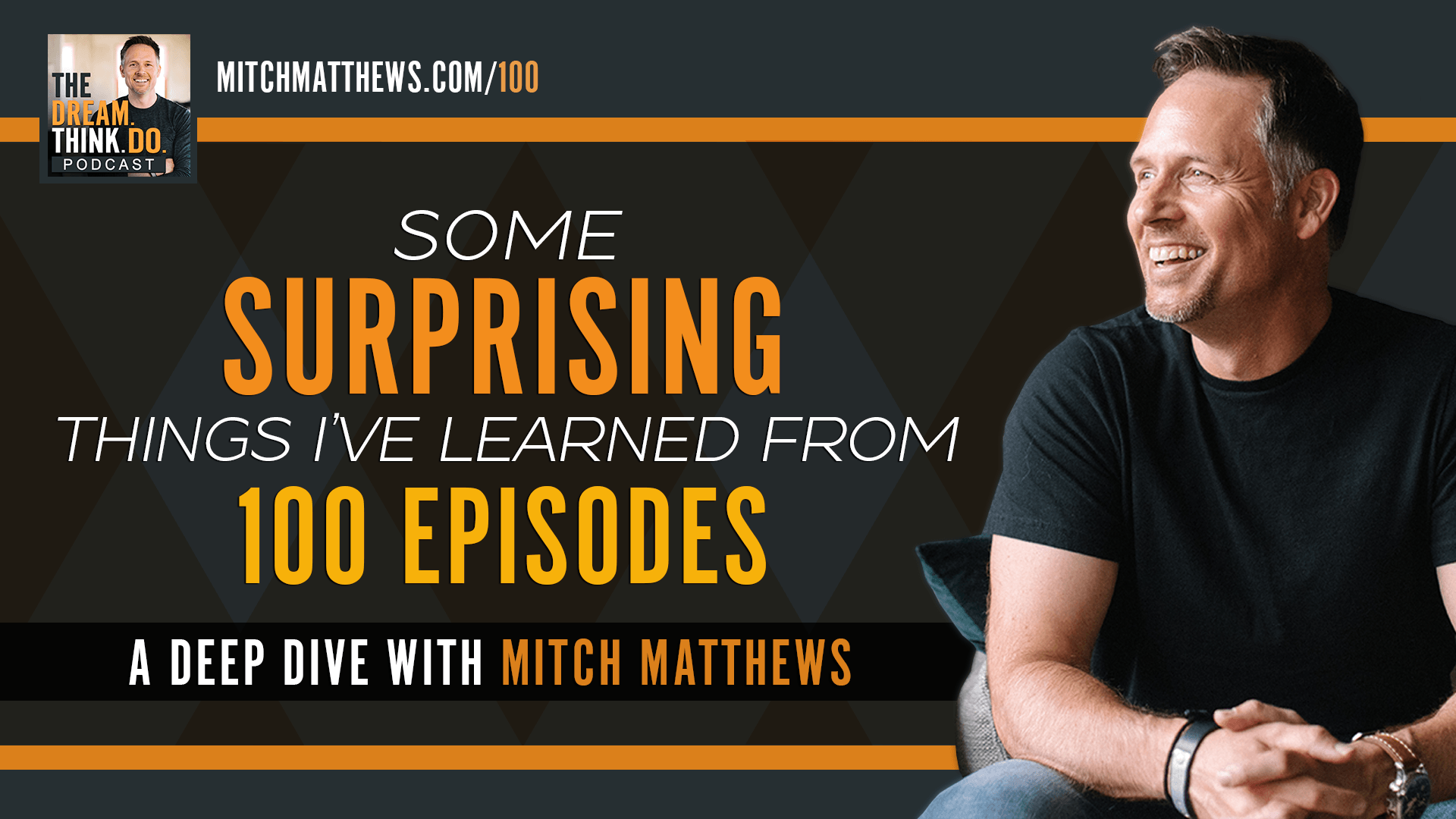 Some Surprising Things I've Learned From 100 Episodes I A Deep Dive with Mitch Matthews