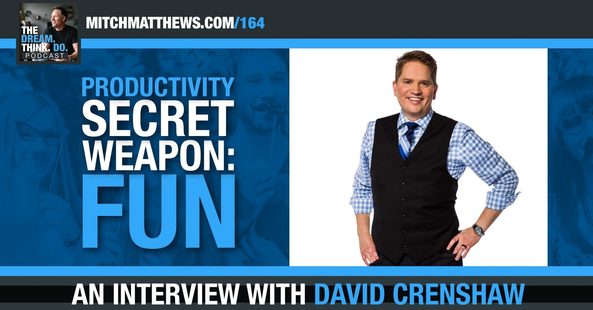 An Interview with Dave Crenshaw
