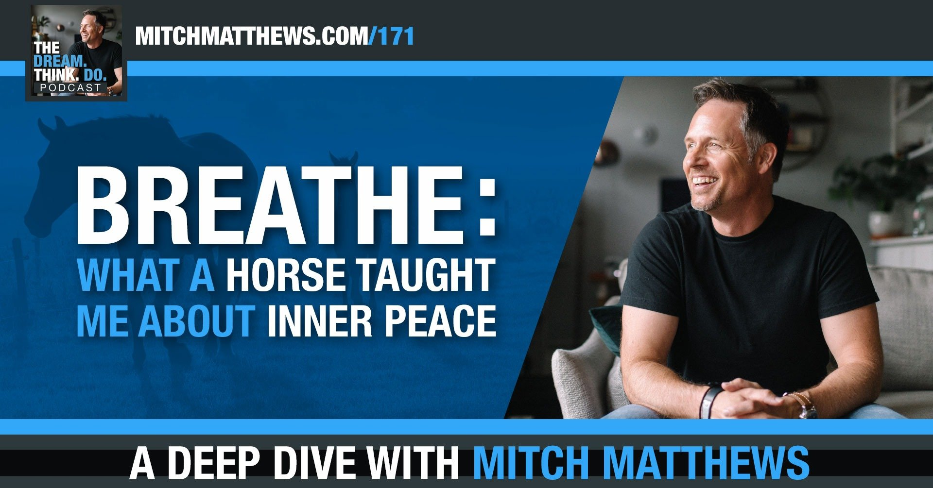 Mitch Matthews | Breathe: What a horse taught me about inner peace.