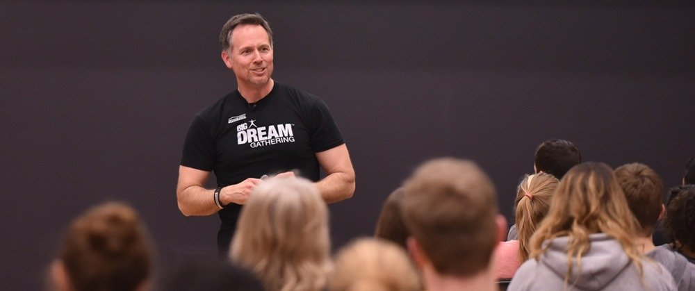 Mitch Matthews Picture on Stage Big Dream Gathering