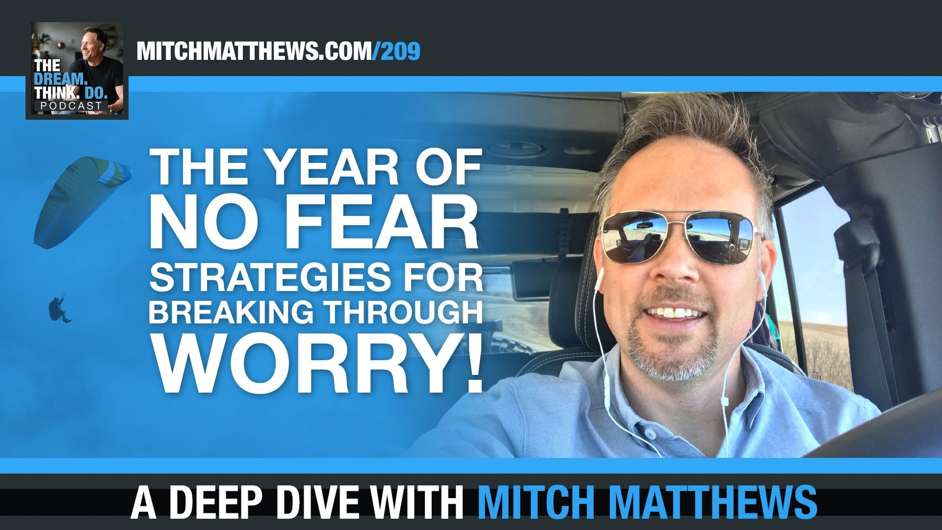 Year of No Fear with Mitch Matthews Podcast