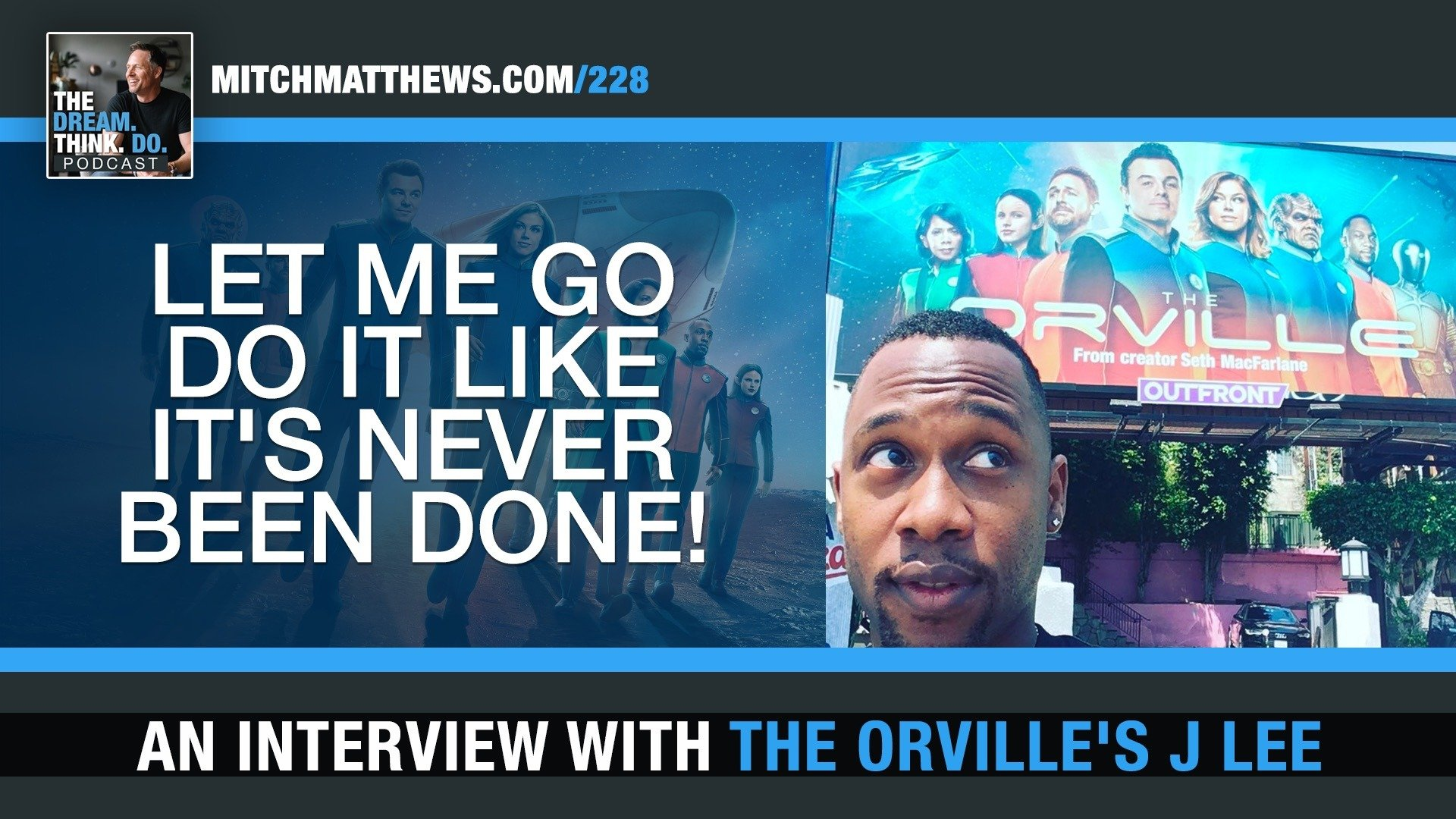 An interview with the Orville's J Lee