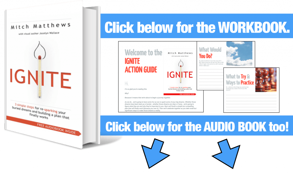 Ignite Workbook and Mp3 Download Graphic