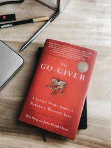 Bob Burg Book Go Giver