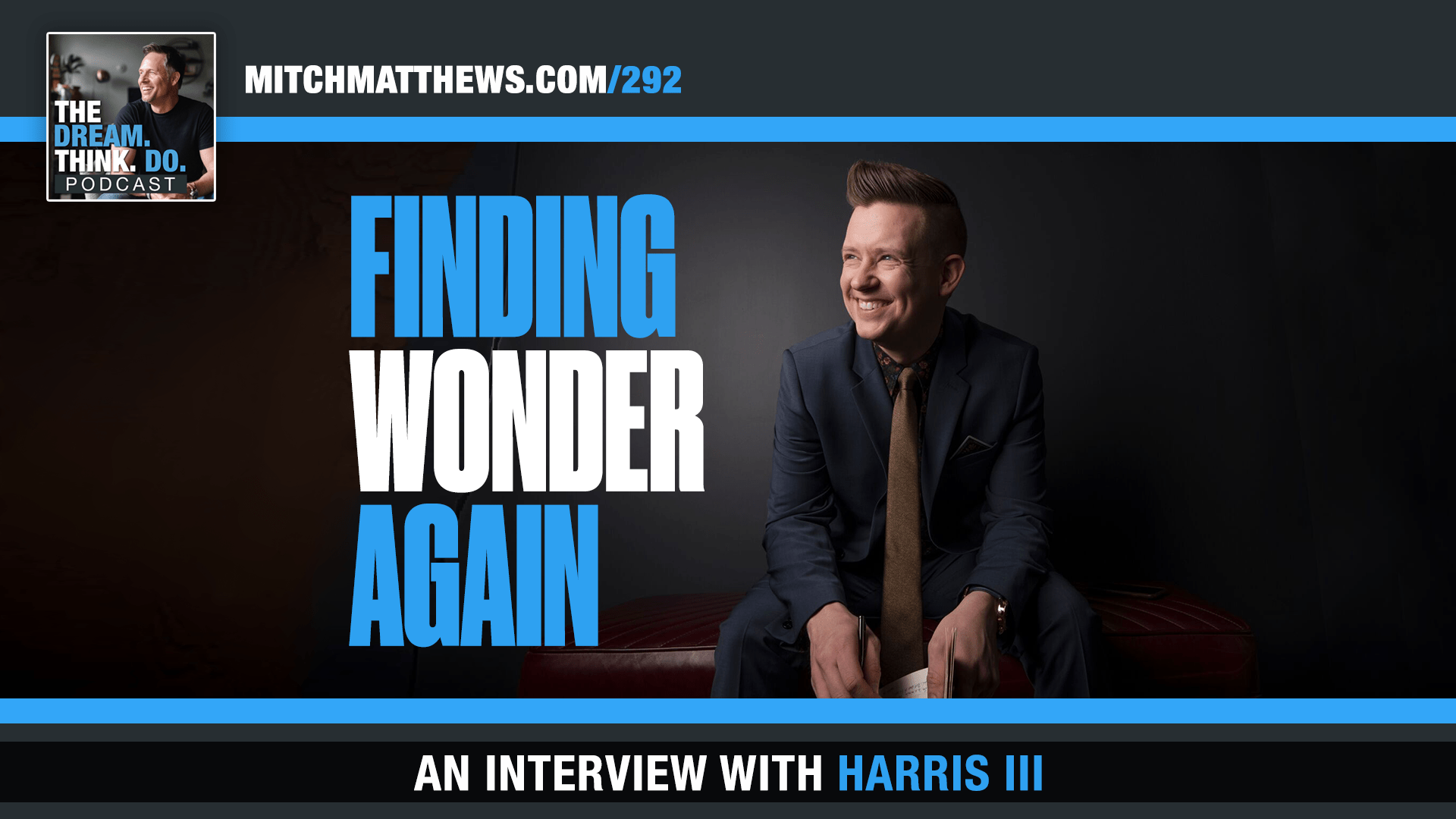 Harris III Finding Wonder Again