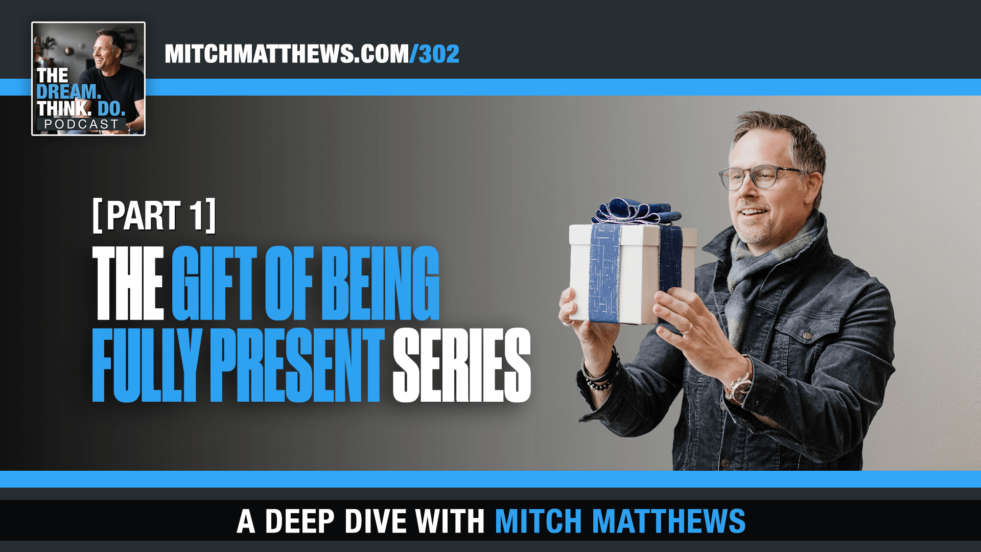 The Gift of Being FULLY Present- Mitch Matthews