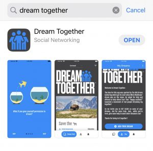 Dream Together App