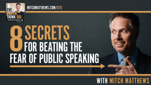 Mitch Matthews on beating the fear of public speaking